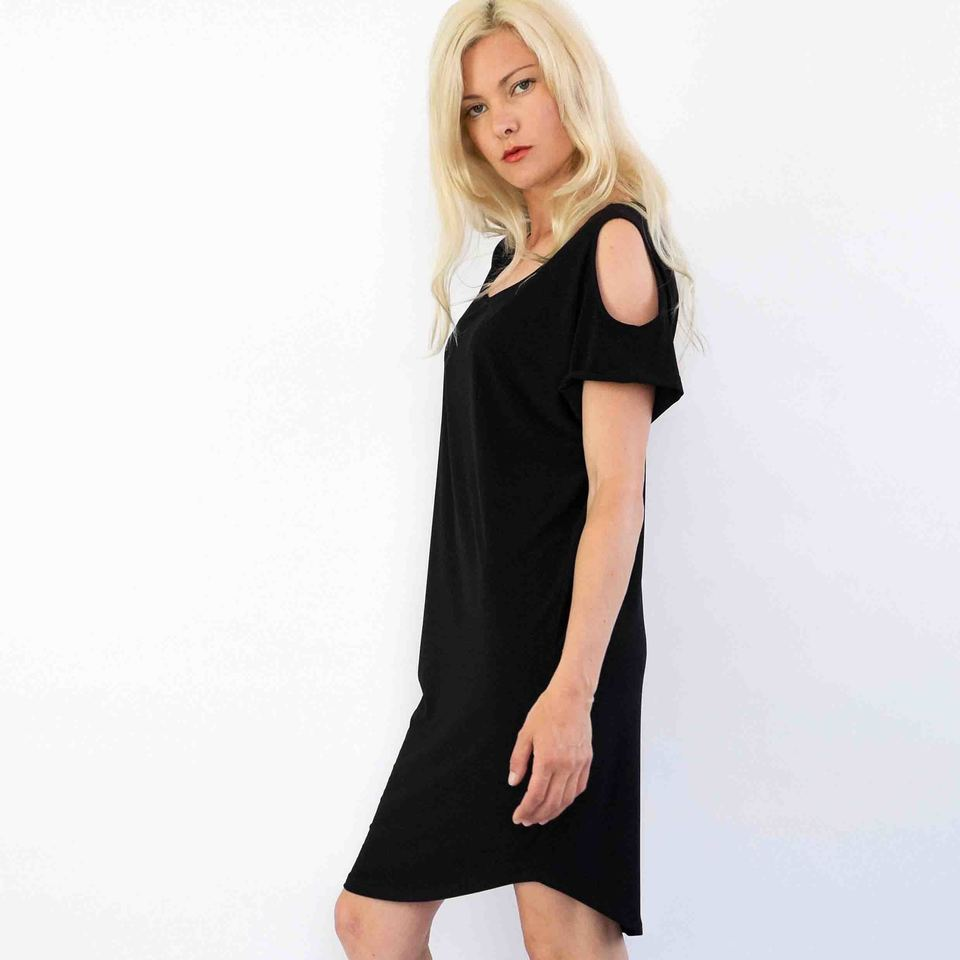 Black Katie Dress (Noir Range)