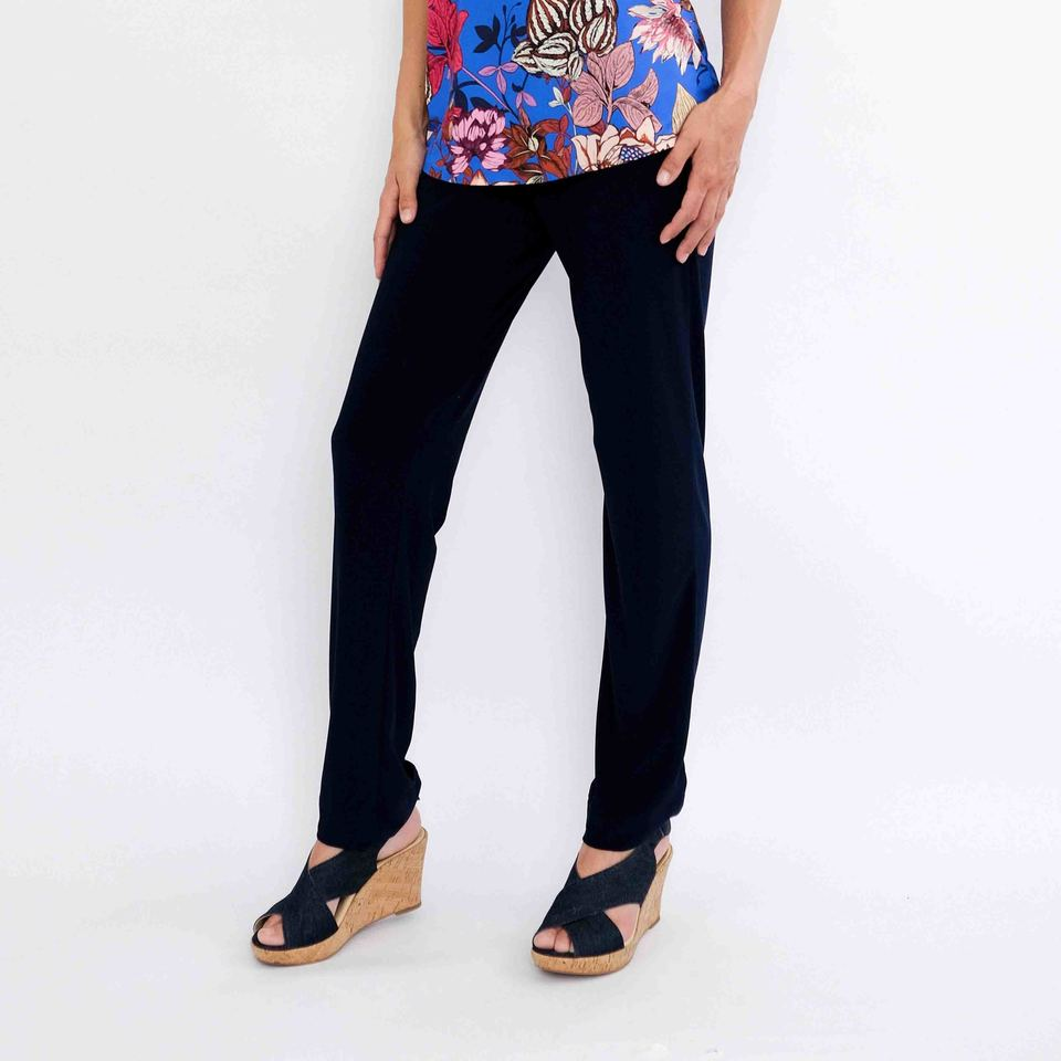 Ruche Pants (Navy or Black)