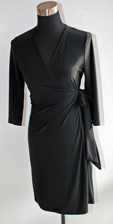 Black Wrap Dress on Black Wrap Dress   Victoria J   Women S Clothes Shopping Online